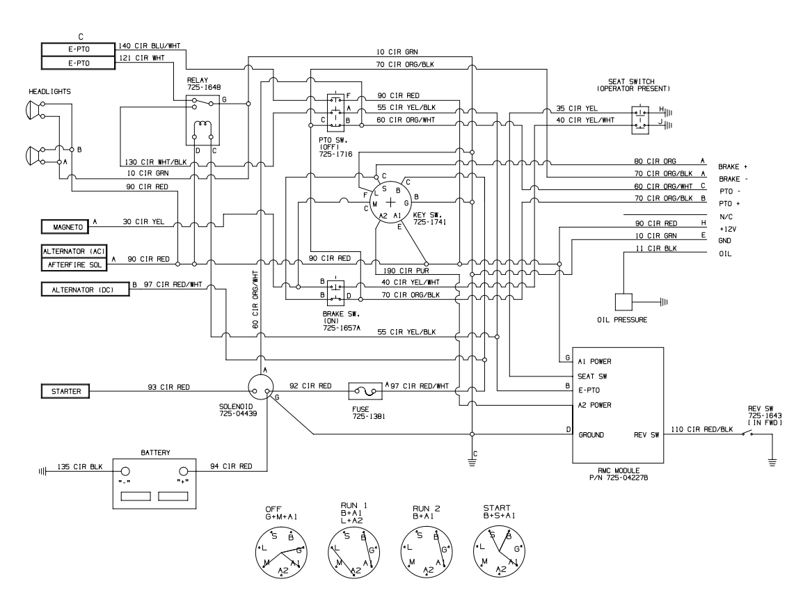 wiring diagram for cub cadet ltx 1045  u2013 the wiring diagram
