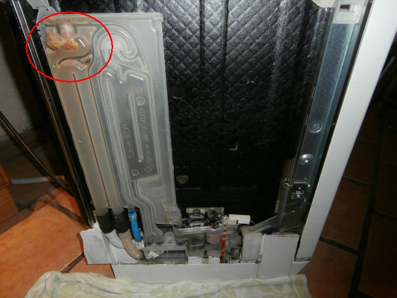 I Have A Siemens Se65t370gb Dishwasher The Water Supply To