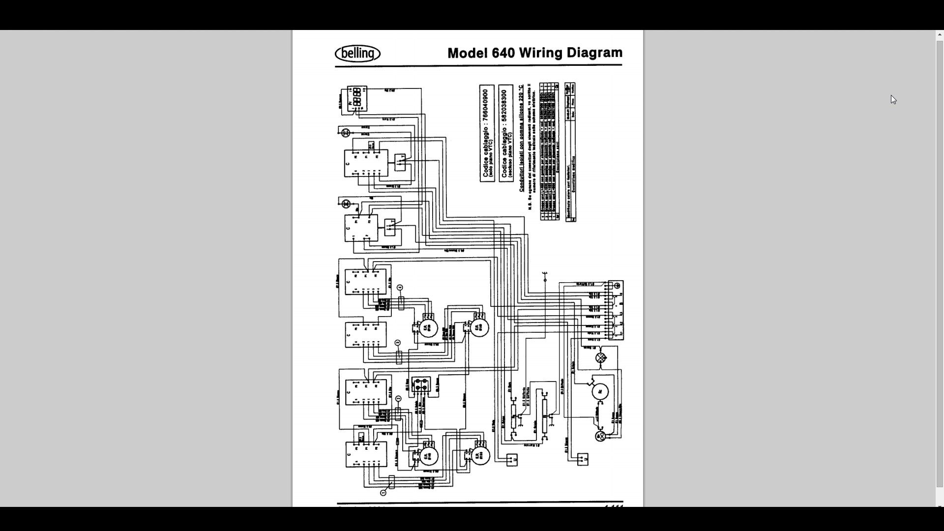 Double Oven Electric Wiring Not Lossing Diagram Wall I Need A For Belling Selector Requirements Electrical