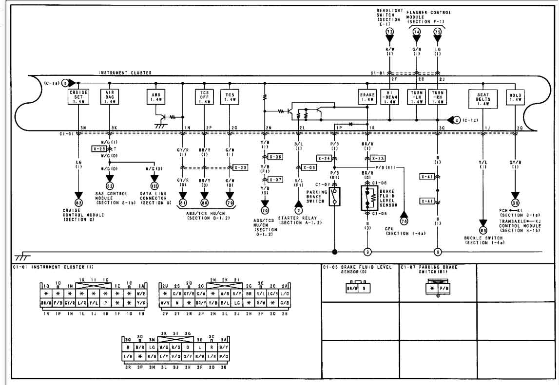 2000 mazda millenia fuse box diagram pictures to pin on