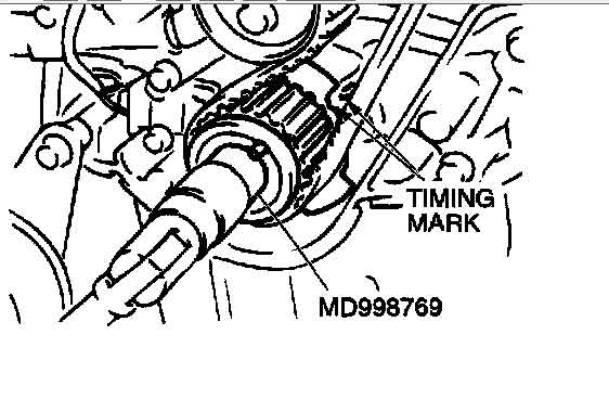 i was changing timing belt and mistakenly turn crankshaft counter clockwise without belt being