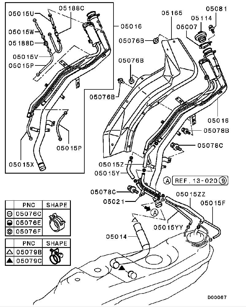 1998 ford contour crankshaft sensor location