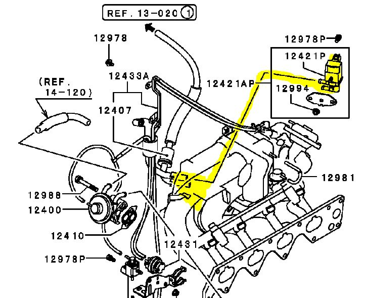 wiring diagram mitsubishi lancer 1994 with Volvo 850 Fuel Pressure Regulator Location on RepairGuideContent as well 1990 Mustang Wiring Diagram moreover Spark 11 likewise 2000 Galant Wiring Diagram further Srs Module Location.