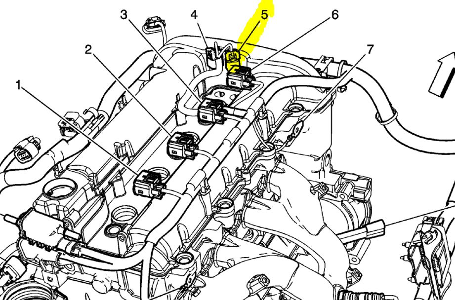 2006 nissan altima crankshaft position sensor location