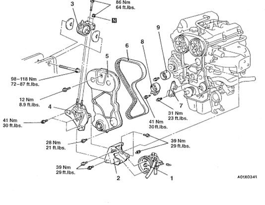 1996 mitsubishi eclipse gs engine diagram