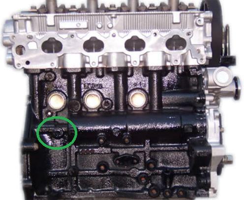 I have a 2003 Mitsubishi Outlander AWD. My oil pressure switch