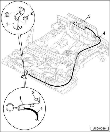 Where Is The Manual Trunk Release On The 2004 Audi Tt