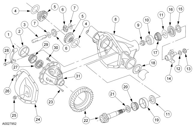 f350 front axle diagram html