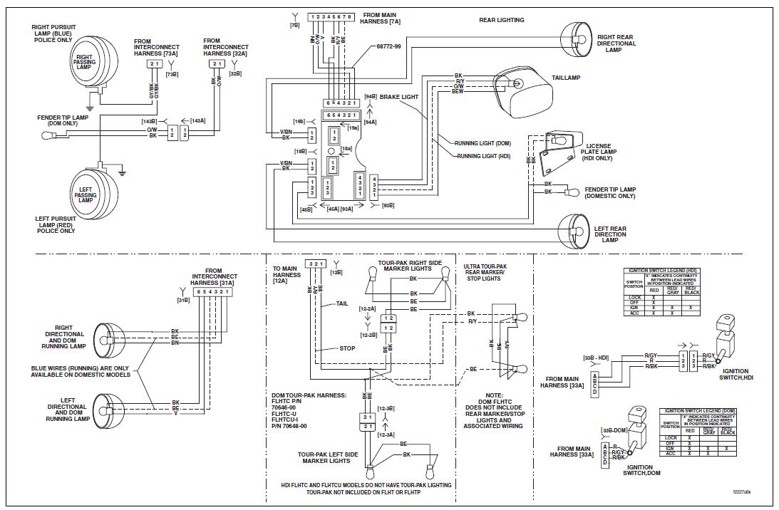 electra glide wiring diagram 210 why would headlight on 05 electra glide come on when you hook battery up? also no blinker on ... electra glide wiring diagram