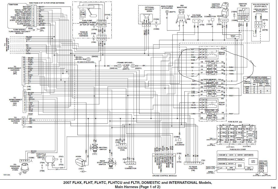 2011 Harley Davidson Wiring Diagrams - Wiring Diagram G8 on