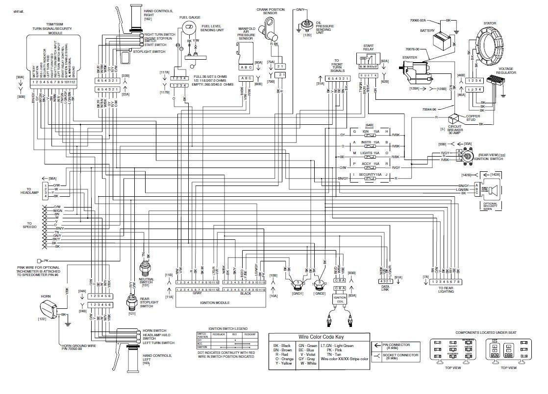 91 Harley Softail Wiring Schematic | Wiring Schematic ... on