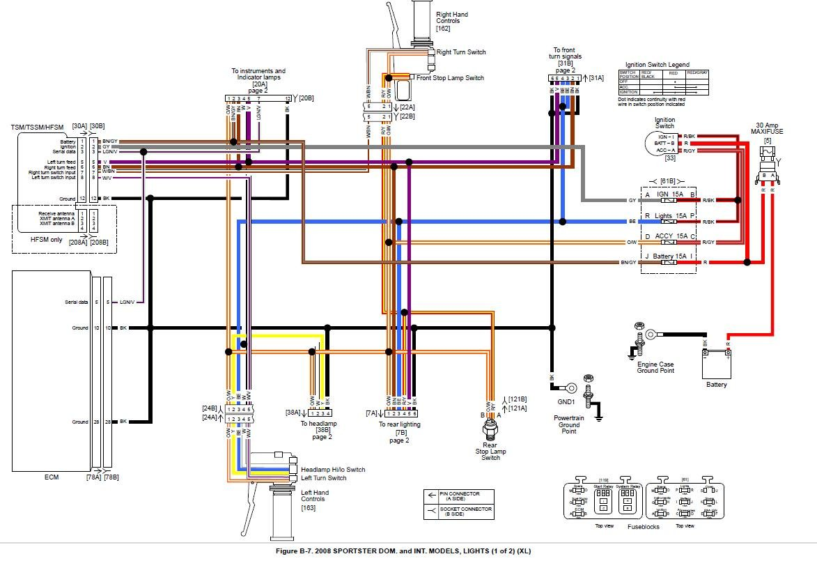 2011 08 05_141613_2008_xl_wiring_2 2011 harley wiring diagram 2011 wiring diagrams instruction harley wiring harness diagram at crackthecode.co