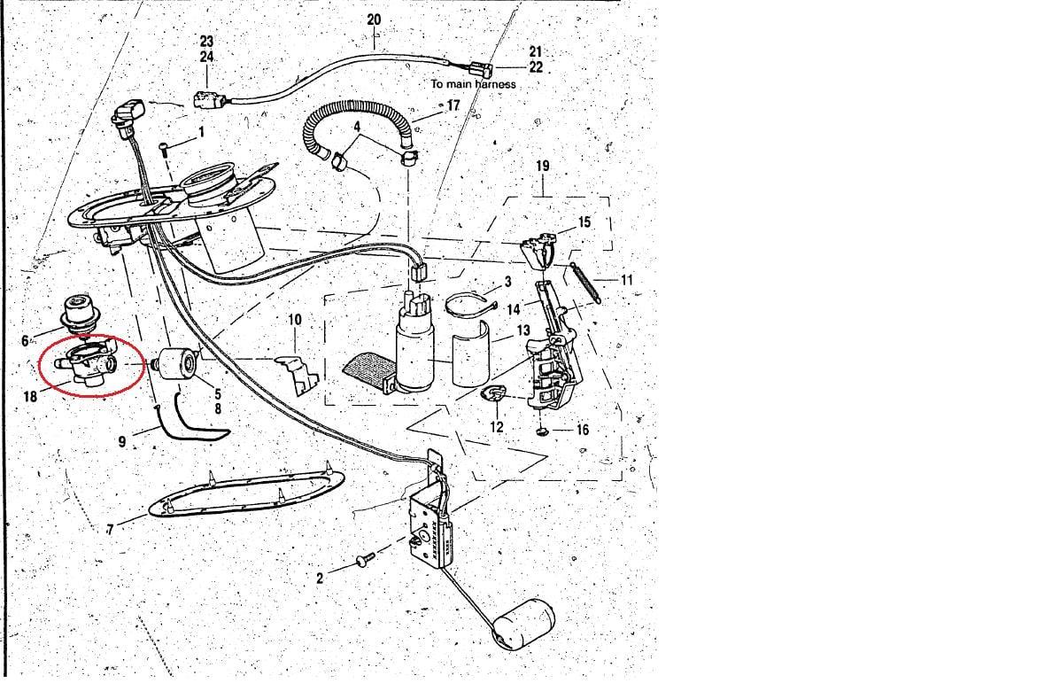 2011 Harley Davidson Fuel Pump Wiring Diagram  Parts  Auto
