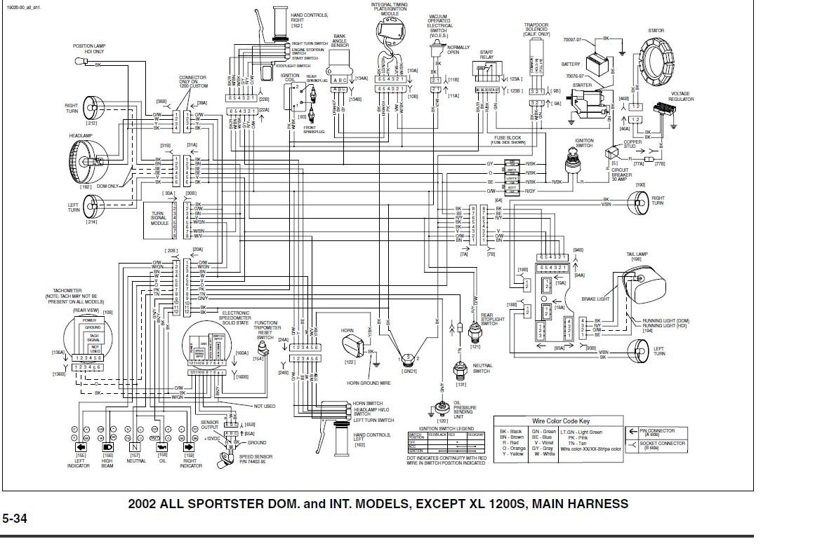 2012 09 03_193455_xl_wiring speedometer wiring the sportster and buell motorcycle forum sportster wiring diagram at fashall.co