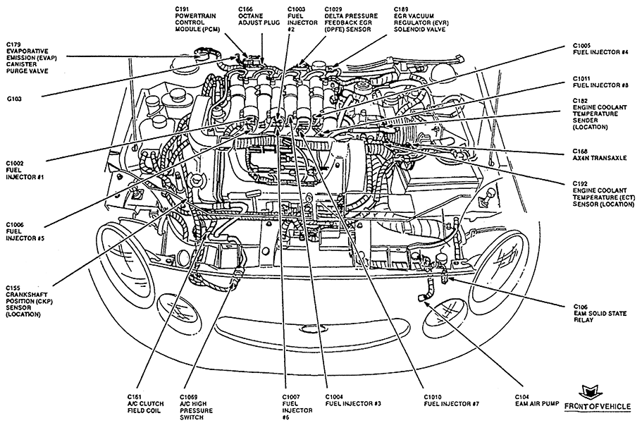 1995 ford taurus sho fuse box diagram  ford  auto wiring