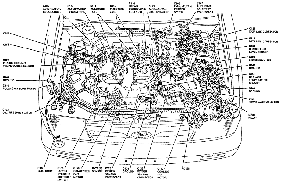 saturn fuel injector wiring diagram