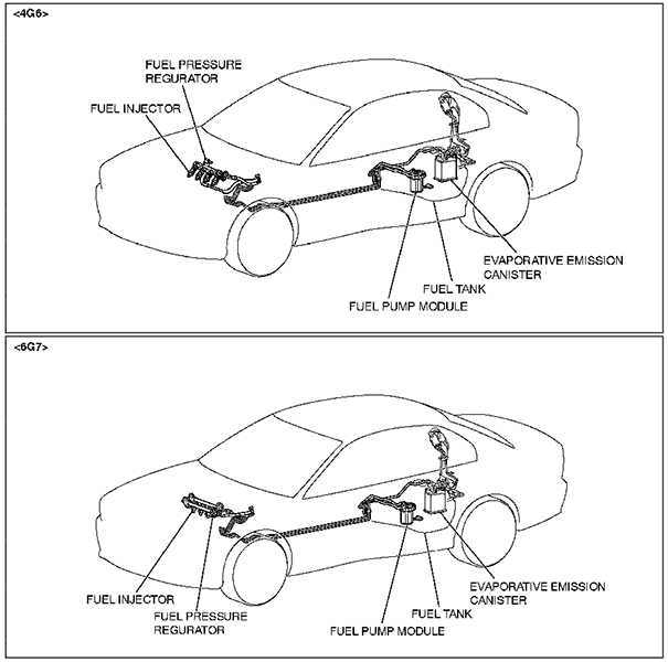 1995 mitsubishi 3000gt fuel pump diagram