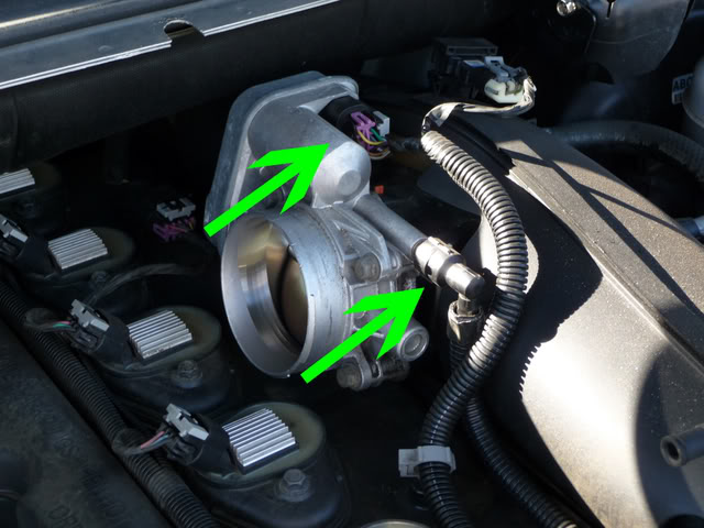 ... Sensor Location moreover 2002 Chevy Trailblazer Throttle Body Sensor