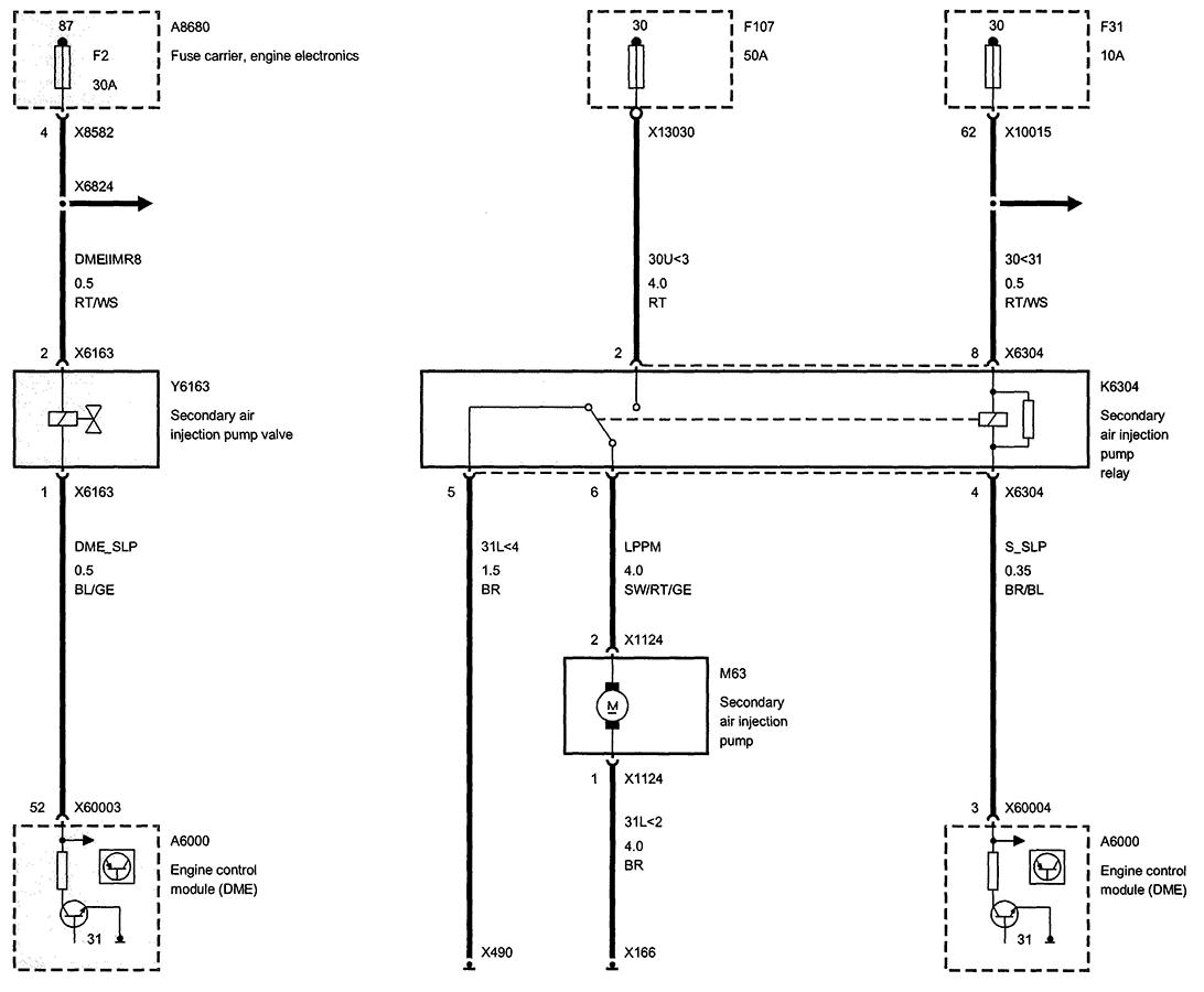 saab 9 3 fuel pump relay location