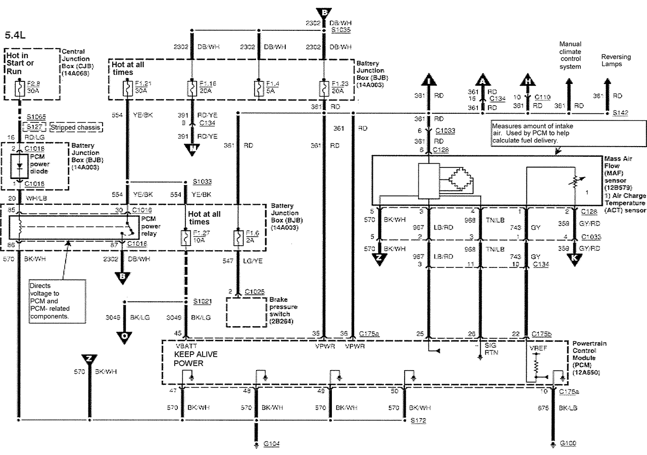 06 e 350 fuse box diagram