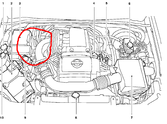 7qldv Nissan Armada 2009 Armada Will Not Start Turns moreover 2006 Nissan Altima 2 5 Engine Diagram moreover 31luw Remove Sterter 07 Nissan Frontier likewise Dd9bb8435c33c3df5a1b238ec7a2f2b6 in addition 3bye2 2005 Ford Ranger Xlt Failed Emissions Inspection Due. on 2003 nissan xterra engine diagram justanswer