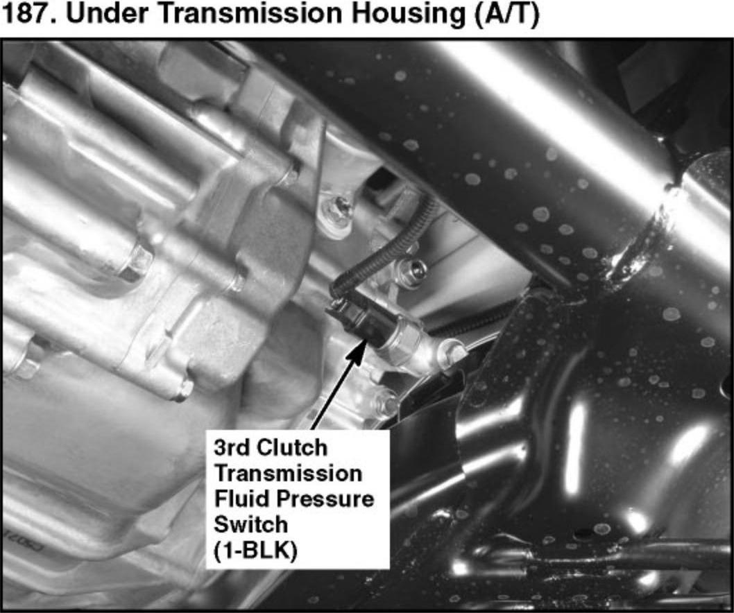 Transmission Fluid Pressure Switch Honda Civic Forum