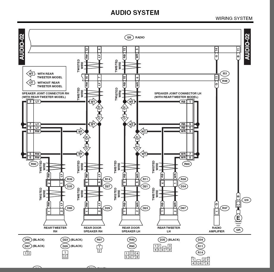 what is the wiring diagram for the 2003 subaru baja factory ask your own subaru question