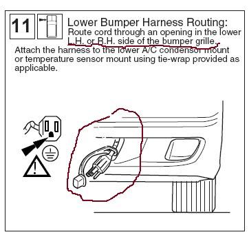 4hj6l Subaru Forester Find Block Heater Cord