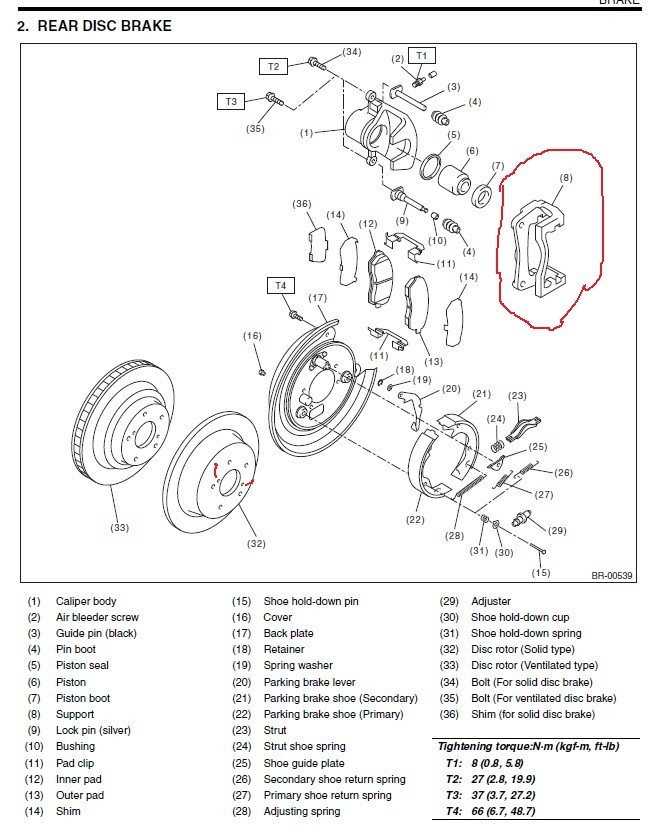 subaru outback brake line diagram