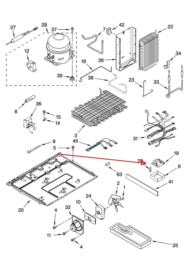 Llok Up Model Number Of Kitchen Aid Refridgerator