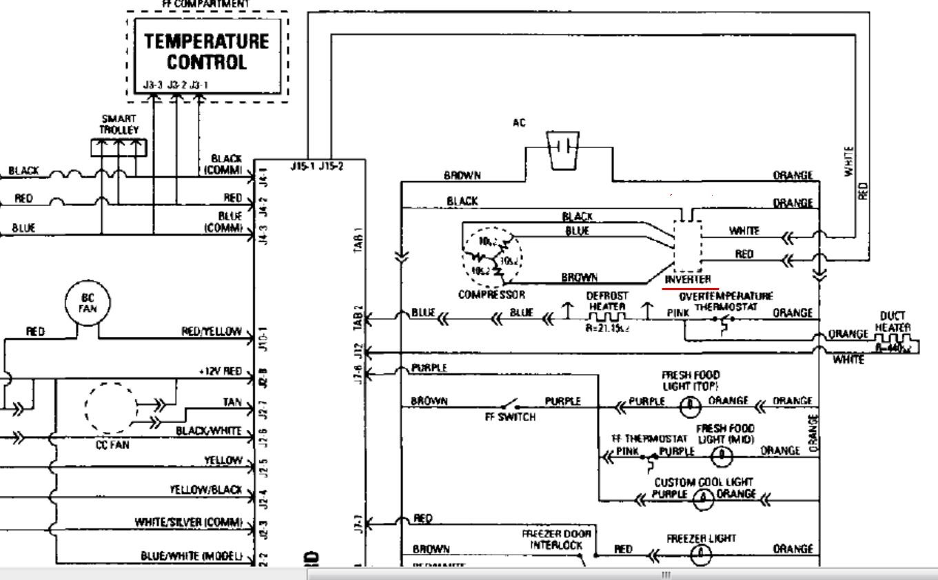 samsung refrigerator compressor wiring diagram annavernon i have a ge refrigerator model pss26pssa side by ss sample wiring diagrams