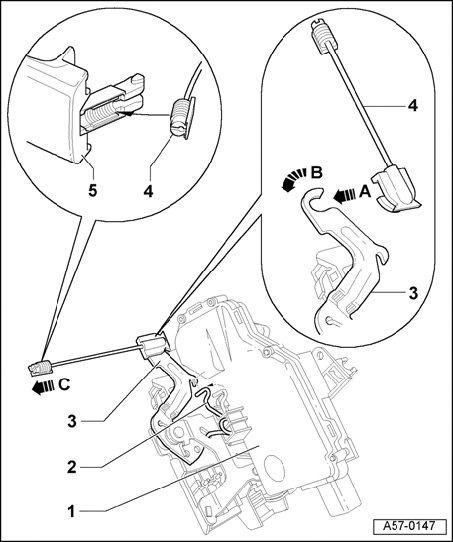 service manual  2000 audi tt driver door latch repair