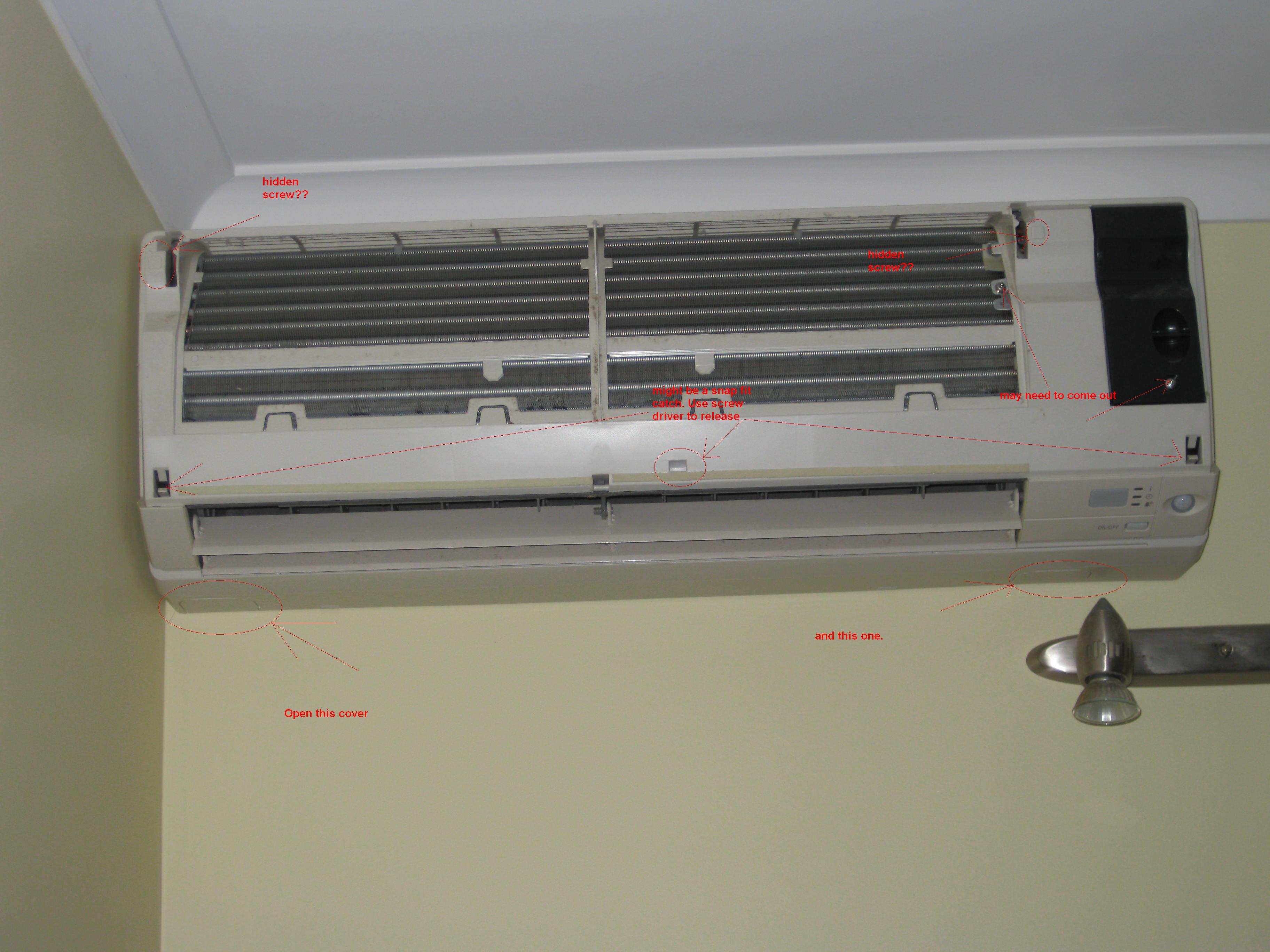 how to set my hitachi airconditioner