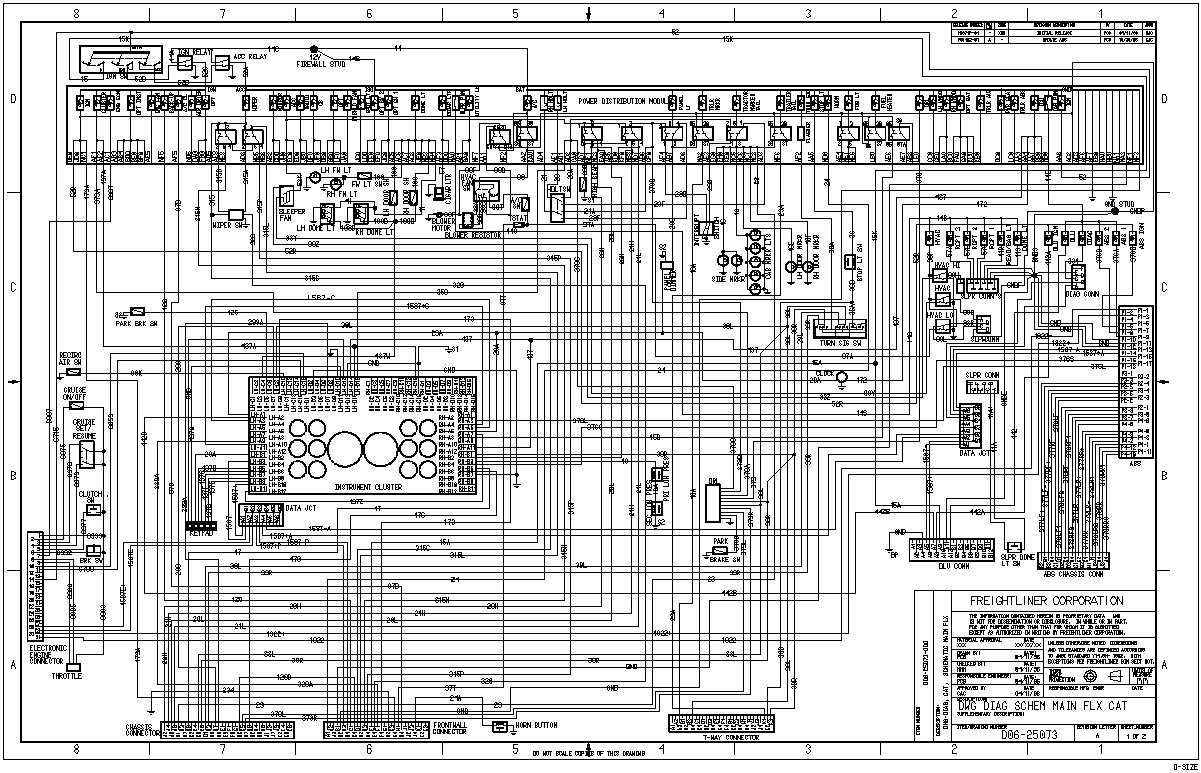 freightliner bus wiring diagram freightliner free engine image for user  manual download Freightliner M2 Wiring Diagrams 2001 Freightliner Wiring  Diagram