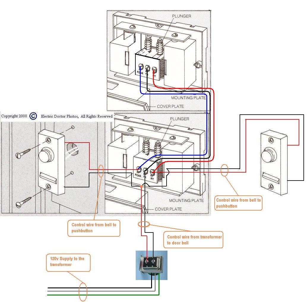 wiring a wired doorbell free diagrams pictures wiring diagram website