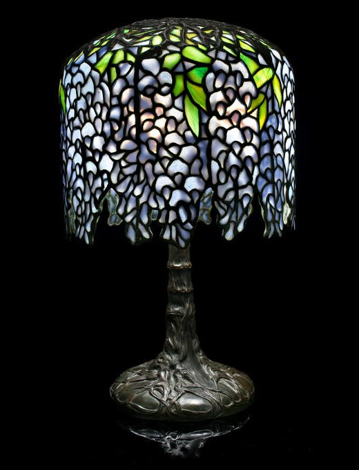 need appraisal of small tiffany style lamp i would like assistance. Black Bedroom Furniture Sets. Home Design Ideas