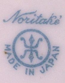 I have a set of Noritake with the blue Noritake Maruki