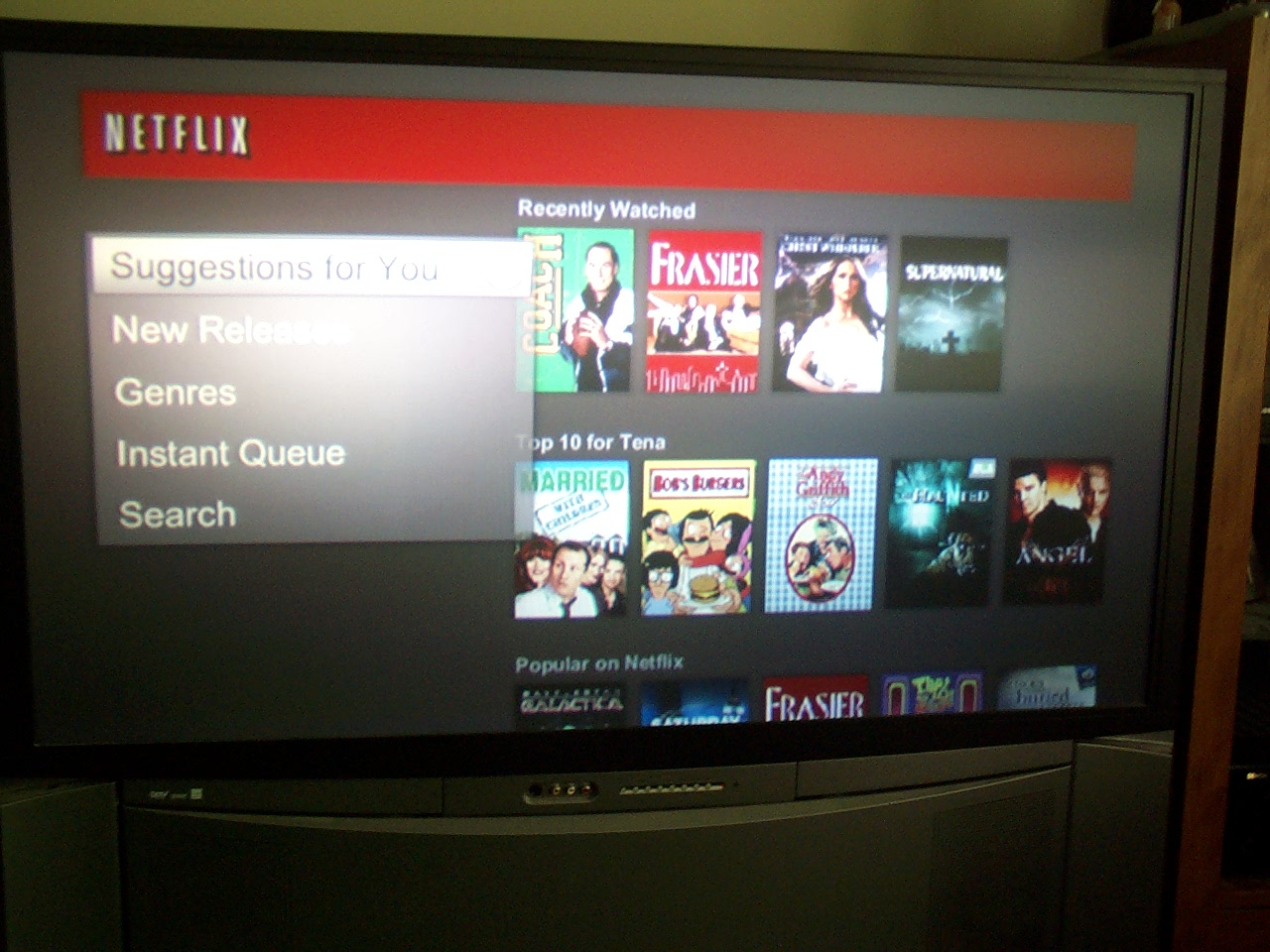 The netflix app on my tv wont open how do i fix this