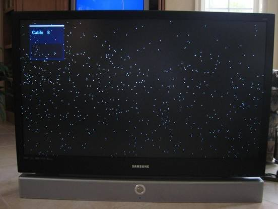 My Mitsubishi Laservue 65 Inch Tv Has Been Getting Dots