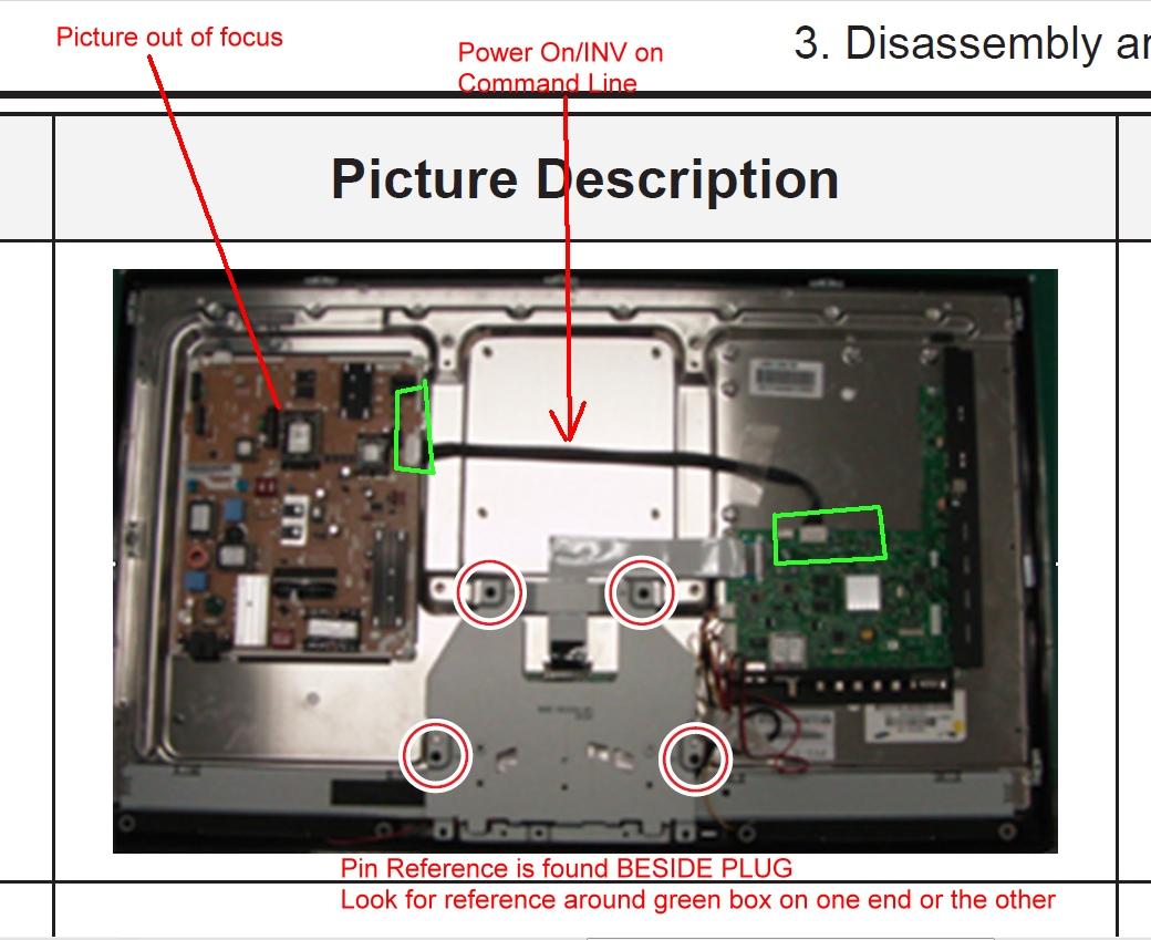 how to turn samsung la40n81bd tv screen off