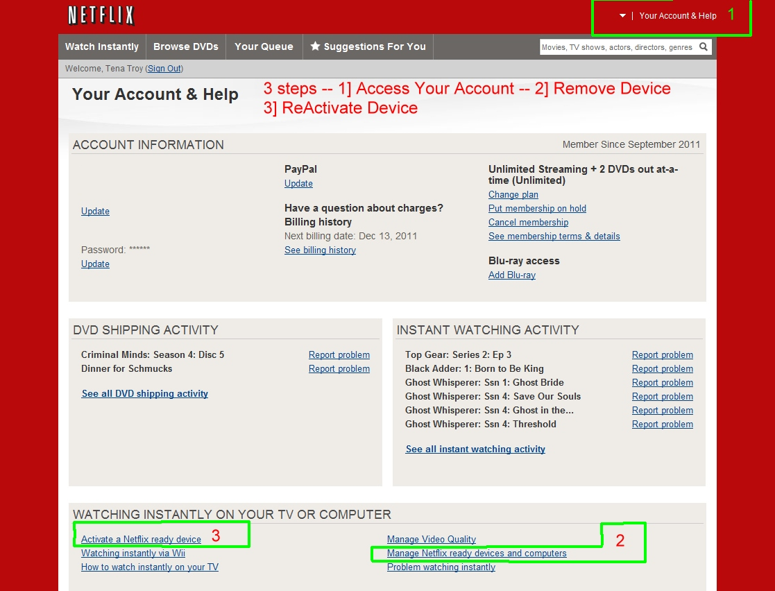 HOW DO YOU GET AN ACTIVATION CODE FOR NETFLIX
