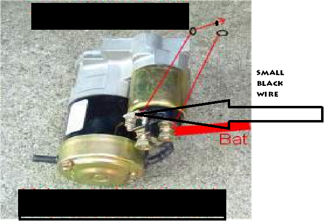 Diagram further Buick Lesabre Custom Fuse furthermore D Starter Motor Wiring Diagram Img additionally D Wiring Problem Starter Relay Mustang Pointing besides Attachment. on starter wiring diagrams