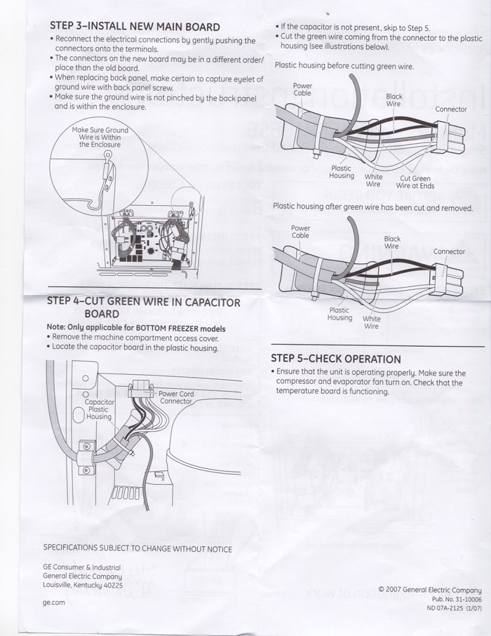 wiring diagram hotpoint refrigerator wiring image my side by side ge hotpoint model hss25gfpaww refrigerator on wiring diagram hotpoint refrigerator