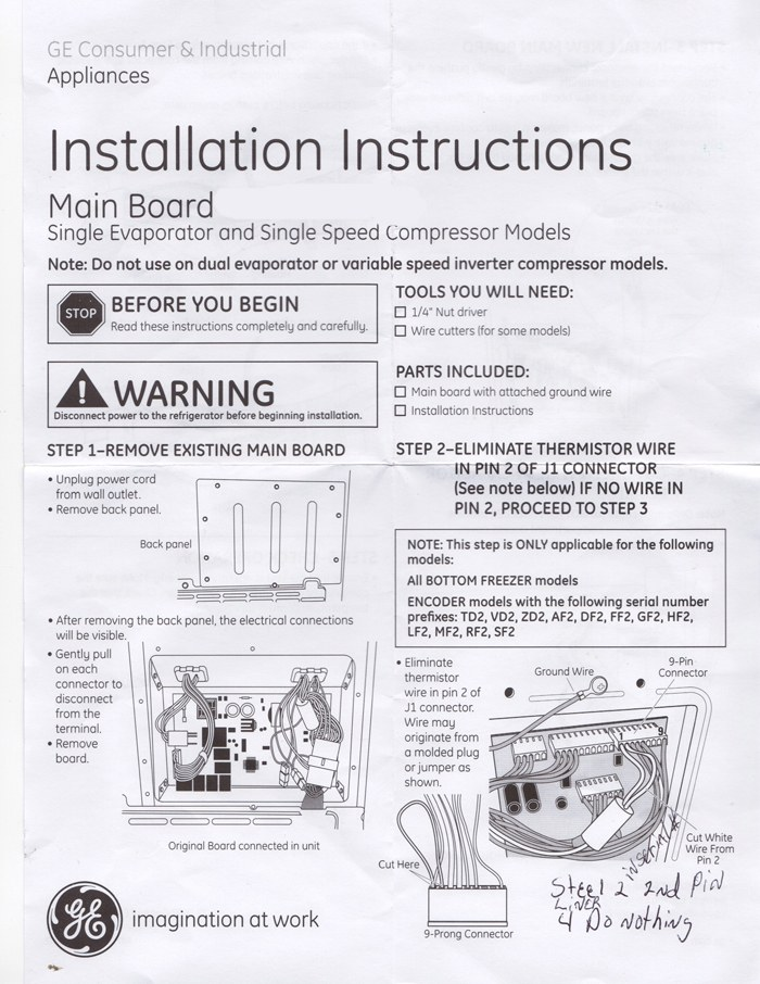 Refrigerator Wiring Diagram Ge Pss25sgna Bs on