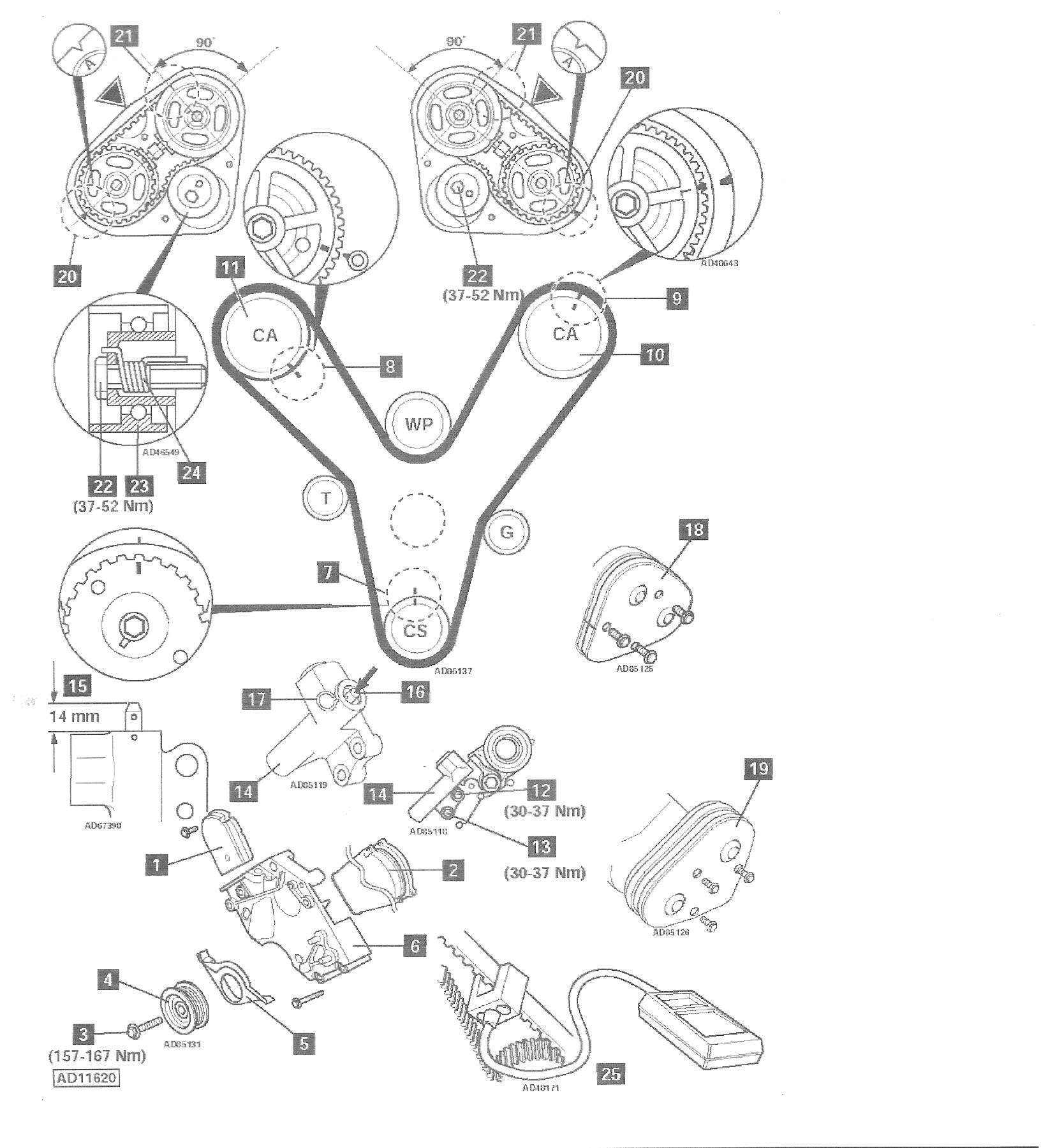 7 3 Powerstroke Belt Tensioner Wiring Diagram And Fuse Box Toyota Solara Engine Timing Mark On