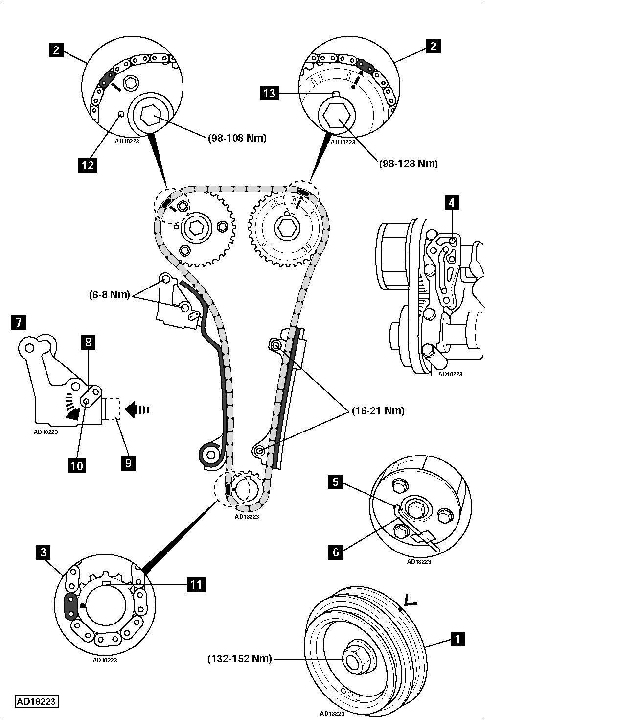 Nissan Almera 2003 Timing Chain Almera Owners Club