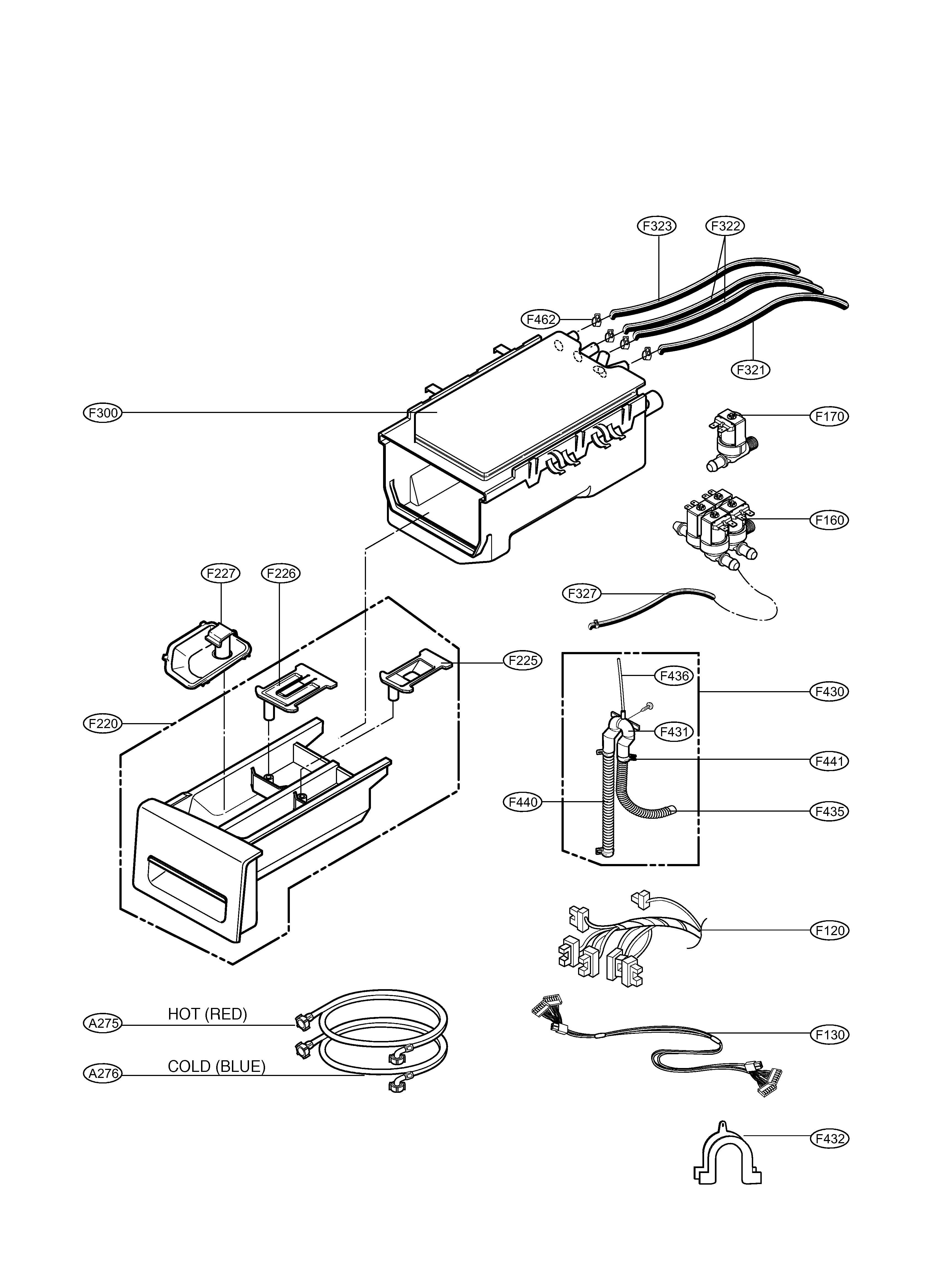 lg tromm washer parts diagram lg image wiring diagram hi my lg combo washer dryer is not drying before you say on lg tromm washer
