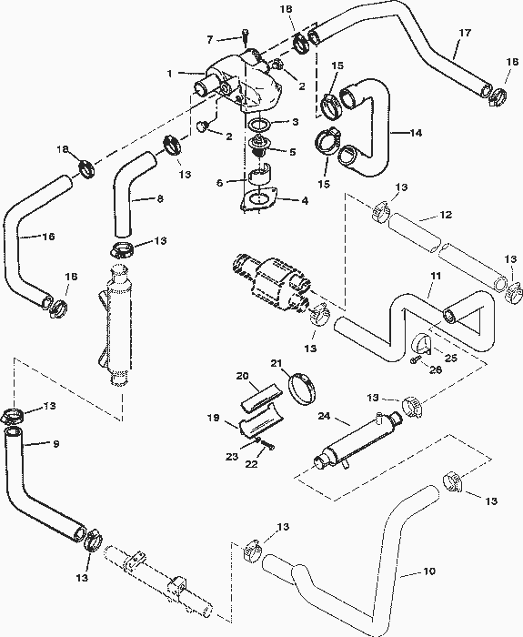 4603 20 further Starter Assembly additionally Starter Motor moreover 2050 Honda Dirt Bike Wiring Diagrams as well Omc help page. on volvo penta starter wiring diagram