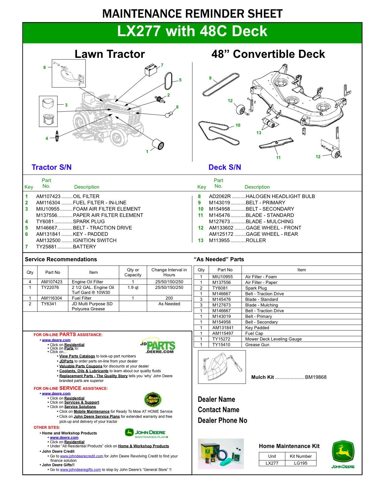 john deere 42 mower deck diagram  john  free engine image