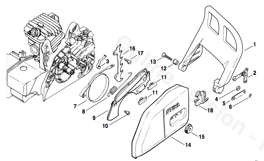 Stihl 028 Parts Diagram Pdf on Stihl Ms 660 Parts